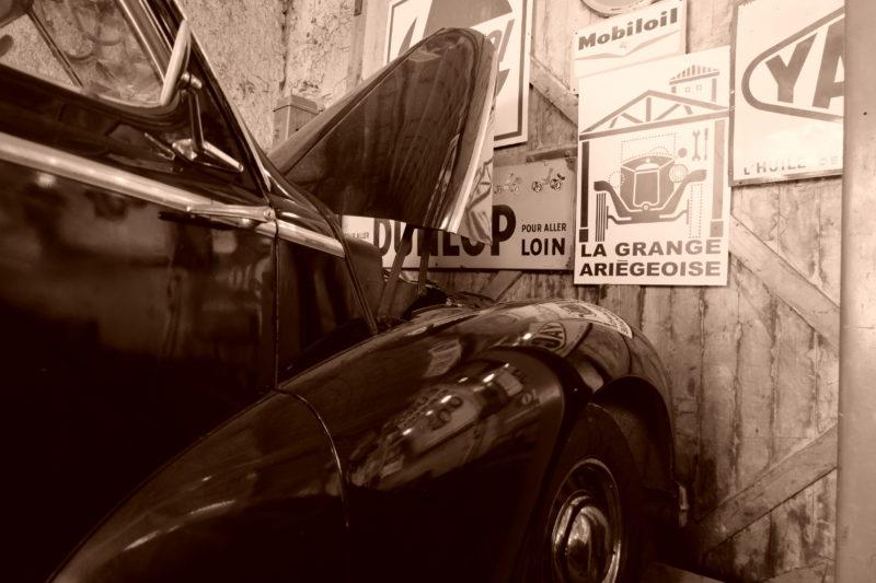 Petite séquence d'entretien pour une très belle Hotchkiss Anjou 1953