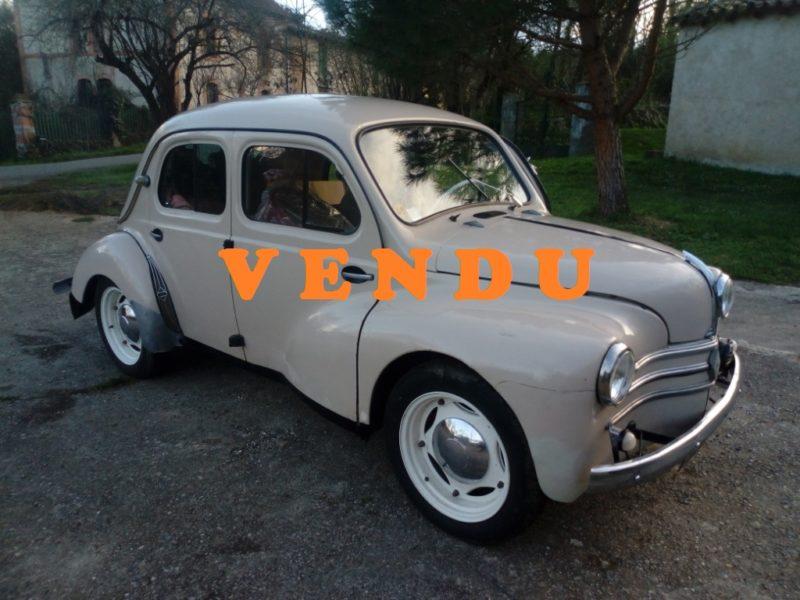 Renault 4cv Affaire de 1957