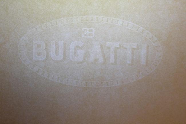 Bugatti – Papier vierge Original
