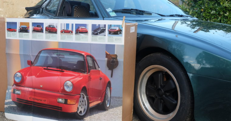 Brochure Porsche 1990