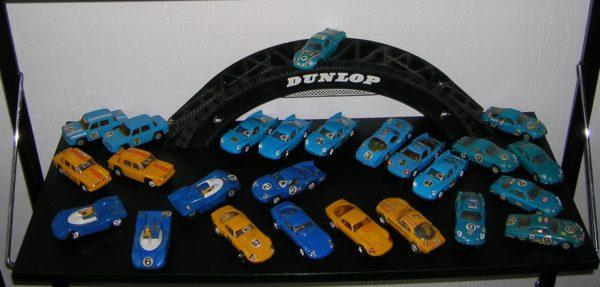 Record 64 – passerelle Dunlop – circuit routier électrique Jouef