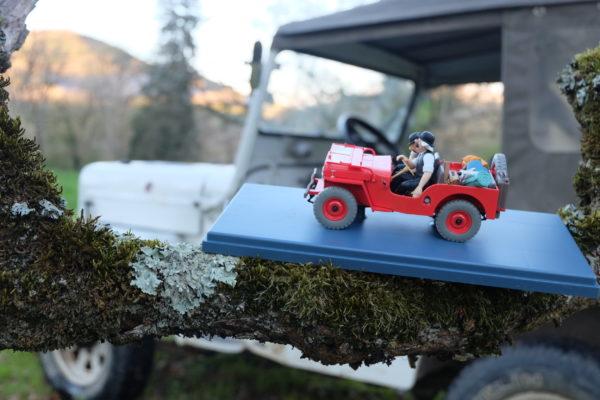 Dupont : «Mon opinion est faite : c'est une Willys CJ3B ex Swiss Army !»