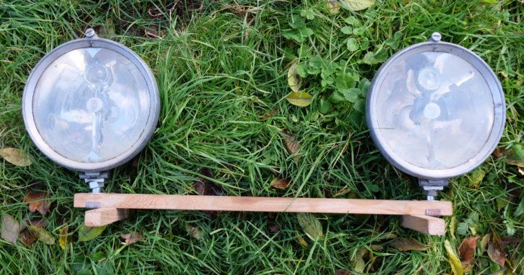 Paire Marchal Trilux (diamètre 23cm )