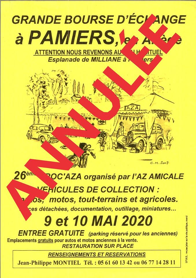 Annulation – Trocaza 2020