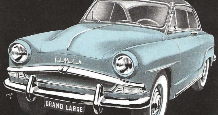 L'Aronde est la voiture la plus vendue en France en 1956