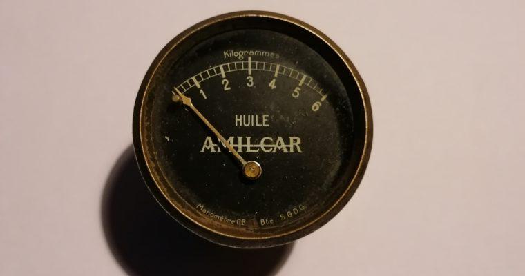 Manomètre Amilcar