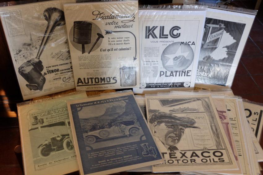 Annonces originales L'ILLUSTRATION Années 1920 / Années 1930 (suite)