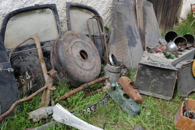 Diverses pièces Citroën Traction