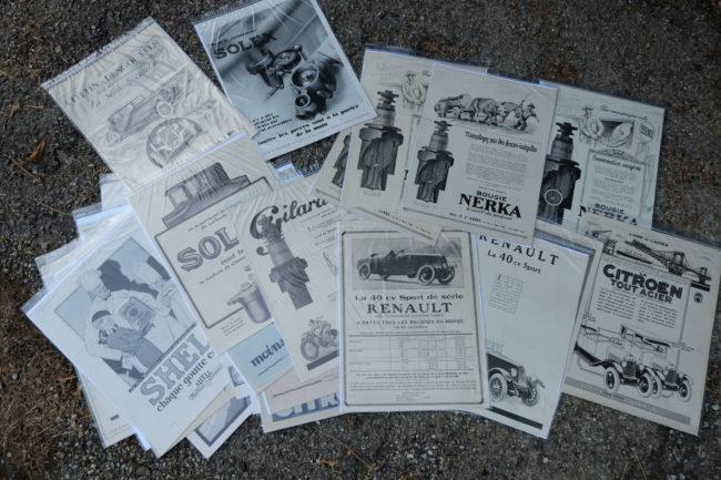 Nouvel Arrivage – Annonces originales  Années 1920 / Années 1930