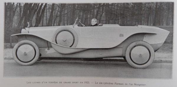 Illustration Salon de l'auto 1922