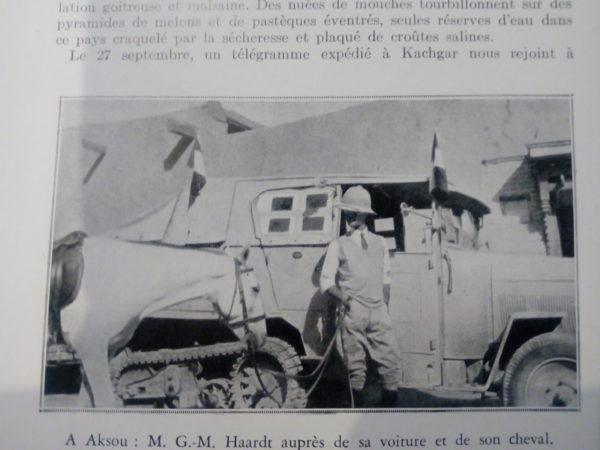 1931 / 32 «Mission Centre Asie» également appelée «la Croisière Jaune»