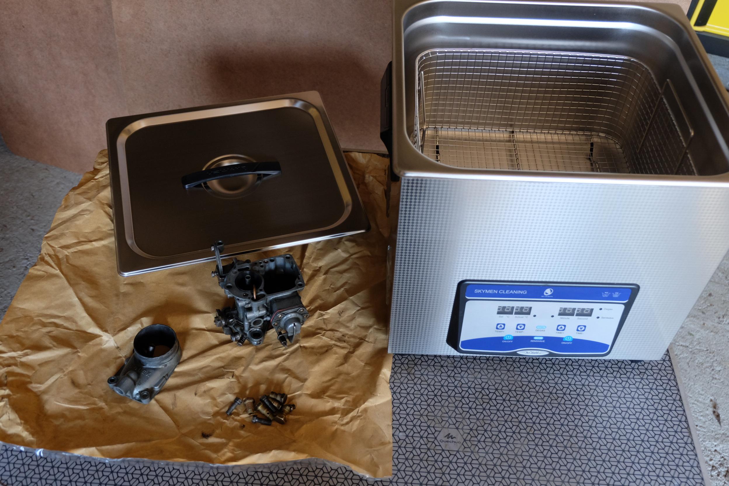 Nouvel équipement disponible à la Grange Ariègeoise : Ultrason Cleaner