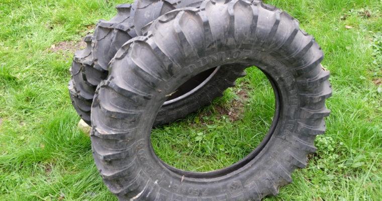 Dunlop Agraire type tracteur 7.50 x 18